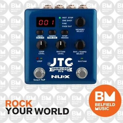 NU-X NDL-5 JTC Drum & Loop Pro Effects Pedal NUX NDL5 - Brand New