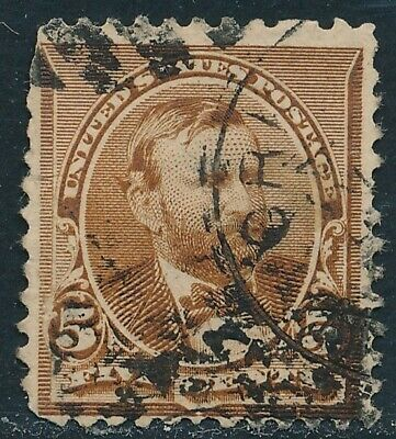 Dr Jim Stamps Us Scott 223 5C Grant Used No Reserve Free Shipping