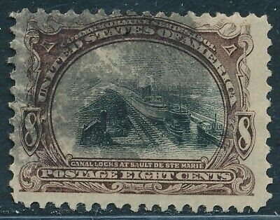 Dr Jim Stamps Us Scott 298 8C Pan American Exposition Used No Reserve