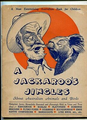 Jackaroo's Jingles Australian animals birds Aboriginal interest C 1954