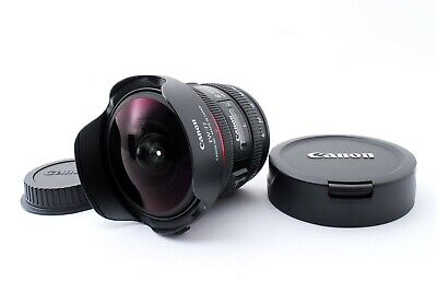 [N.Mint]Canon EOS EF 8-15mm F/4L USM Fisheye Zoom Lens From Japan Free Shipping.