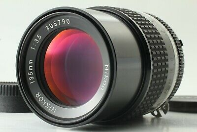 【Near Mint】 Nikon Ai-S Nikkor 135Mm F3.5 Mf Lens From Japan #0091