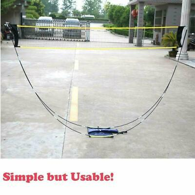 Portable Badminton Net Set Volleyball Net w/ Stand &Carrying Bag Outdoor Sports