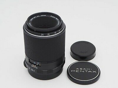 [NEAR MINT] Pentax SMC Macro-Takumar 100mm f4 M42 Mount Lens from JP
