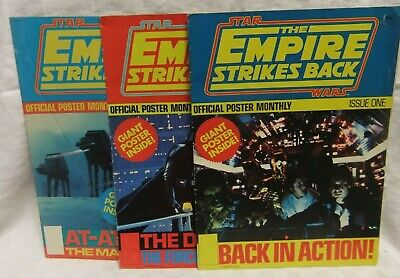 Star Wars The Empire Strikes Back Official Poster Monthly Issues 1 2 4