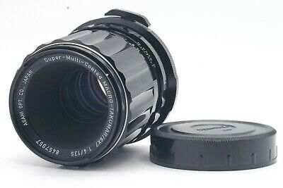 EXCELLENT+++ PENTAX SMC TAKUMAR 6x7 135mm F/4 Lens for 6x7 67 67II from JAPAN