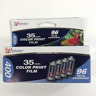 35mm Color Print Film 24x36 Mm 96 Exposures Iso 400 Bb