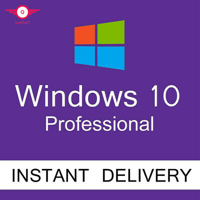 Instant Delivery Windows 10 Professional Pro 32 / 64 Bit Activation License Key