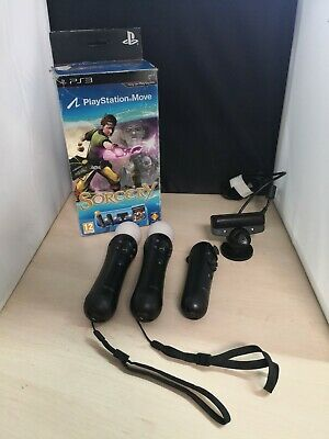 Sony PlayStation PS3 Move Motion Controllers & Eye Toy Camera #5A