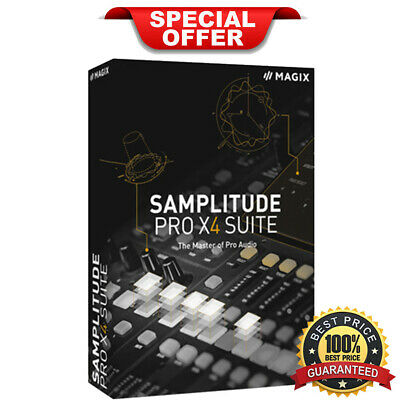 Magix Samplitude Pro X4 Suite | Official Version | Lifetime License