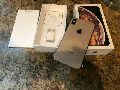 Apple iPhone XS Max - 256GB - Gold (AT&T) A1921 (CDMA + GSM) Unlocked