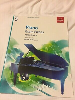 ABRSM Piano Exam Pieces 2019 2020 Syllabus Grade 5 Sheet Music Book