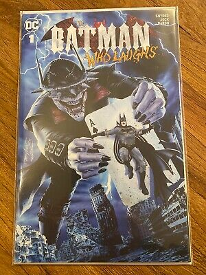 the batman who laughs 1 Mike Mayhew Trade Variant Ltd To 3000