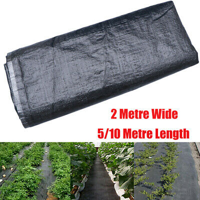 10M Heavy Duty Weed Control Fabric Membrane Garden Landscape Ground Cover Sheet