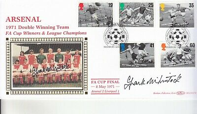 Frank Mclintock Signed Arsenal Benham Cover