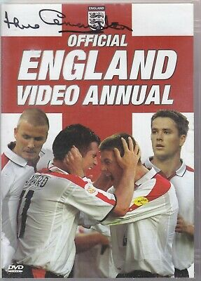 Jack Charlton Signed Official England Video Annual Dvd