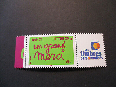 ***Timbre De France***  Personnalise   'Un Grand Merci'    N° 3761A  Neuf**