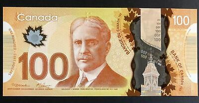 Canada 2011, UNC Banknote 100 Dollars Polymer