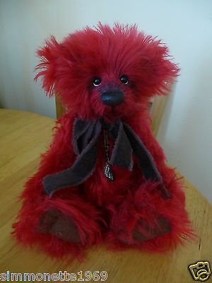 Charlie Bears Enzo Isabelle Lee Ltd Edition Mohair Collection 2012 RETIRED