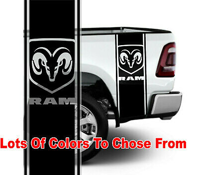 1500 2500 Truck Bed side stripes Hemi PISTON decals Sticker Bed Band DS-032B