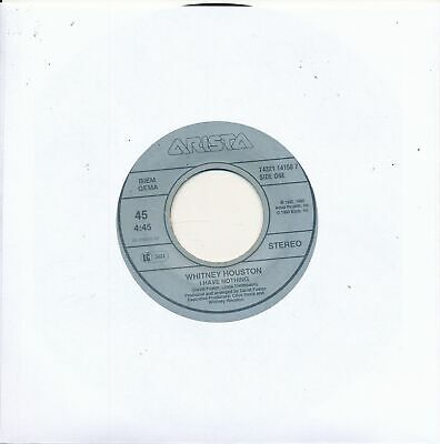 "I Have Nothing - Whitney Houston - LC Single 7"" Vinyl 203/09"