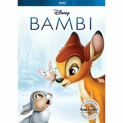 Bambi Signature Collection (DVD, 2017) New & Sealed w/ Slipcover FREE Shipping