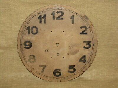 Antique Vintage Wall Clock Dial