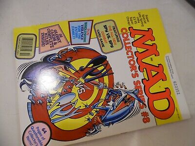 Mad Magazine Collector/'s Series #8 w//  1994 Spy vs Spy Cards Insert lot of 5