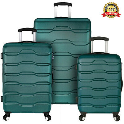 "Samsonite Omni 3 Piece Hardside Luggage Nested Spinner Set (20""/24""/28"") New"