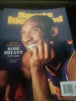 Kobe Bryant Sports Illustrated Special Tribute Issue 1978 - 2020 Shipped In...