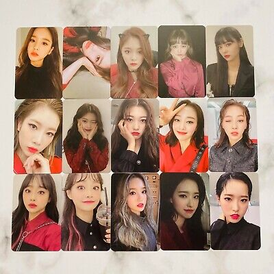Loona Mini Album [#]  Photo Card Official