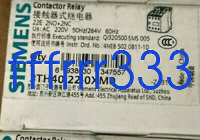 1PC NEW Siemens 3TH4022-0XM0 Contactor Relay