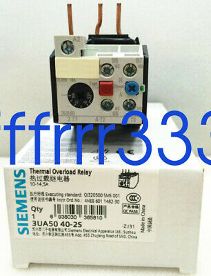 1PC NEW SIEMENS Thermal Overload Relay 3UA5040-2S 10-12.5A