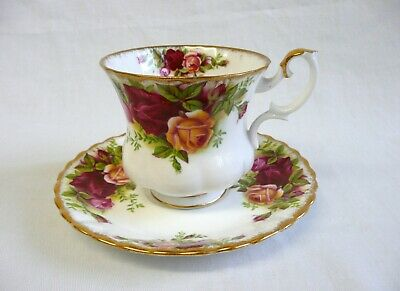 Royal Albert 'Old Country Roses' Demitasse Coffee Cup & Saucer.