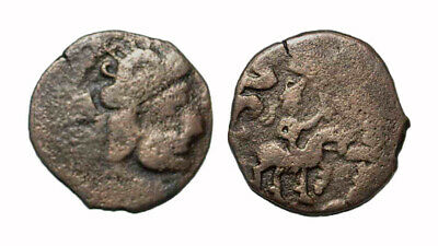 (14771) Ancient Khwarizm AE, The Afrighid dynasty, late 6th C. - AD 995.