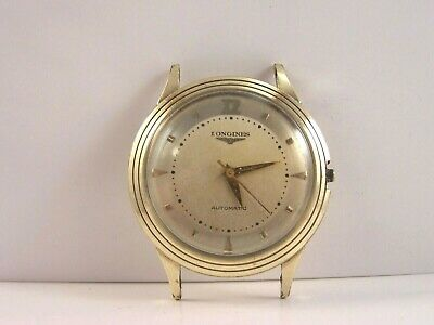 Vintage Longines Automatic 17 Jewel 19AS 10K Gold Filled Men's Watch