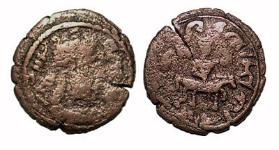 (14782) Ancient Khwarizm AE, The Afrighid dynasty, late 6th C. - AD 995.