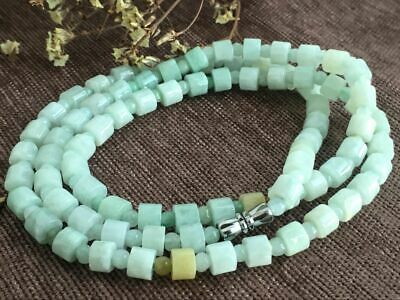 Certified Chinese-exquisite-hand-carved-jade-necklace-28inches 2037