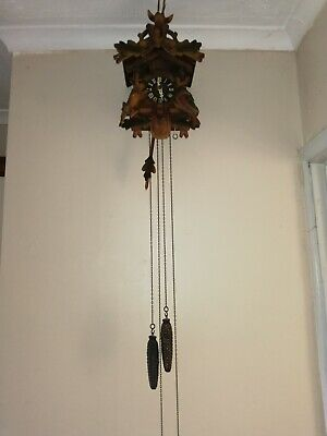 cuckoo clock age unknown but in excellent condition and keeps good time