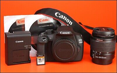 Canon EOS 1200D DSLR Camera + 18-55mm Zoom Lens kit  Very LOW Only 41 Shots