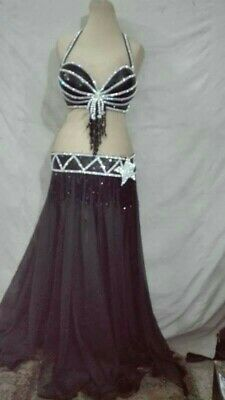 Professional Egyptian belly dancing costume made any color