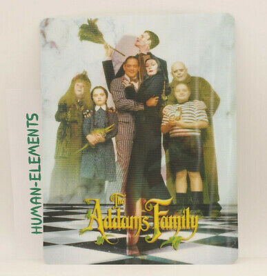 THE ADDAMS FAMILY - Lenticular 3D Flip Magnet Cover FOR bluray steelbook
