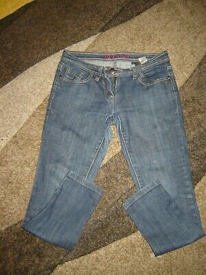 LADIES NEXT Size 10 Petite SKINNY JEANS Blue