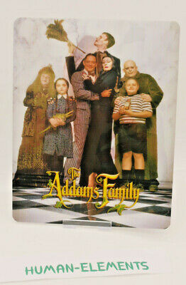 THE ADDAMS FAMILY - 3D LENTICULAR Flip Magnet Cover TO FIT bluray steelbook