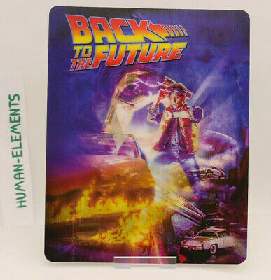 BACK TO THE FUTURE - Lenticular 3D Flip Magnet Cover FOR bluray steelbook