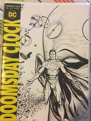DC Comics Doomsday Clock 1-12 Complete 1st Printings NM