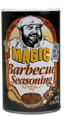 Magic Barbeque Seasoning Chef Paul Great on Grill