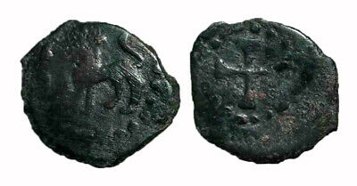 (15105) Bukhara Soghd, AE coin, Vardanzi, Unknown ruler.
