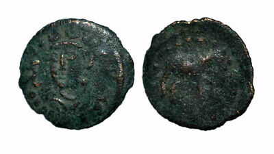 (15118) Bukhara AE coin, ruler Gathfar. -RRR
