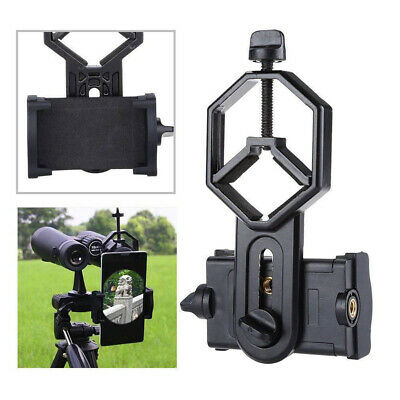 Universal Mobile Phone Telescope Adapter Holder Mount Bracket Spotting Scopes